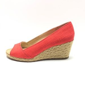 LUCKY BRAND Kareena Espadrille Wedges Size 8